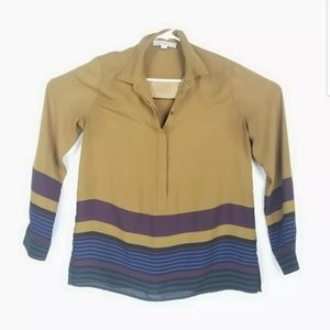 LOFT Ann Taylor Womens Size Medium Top Long Sleeve